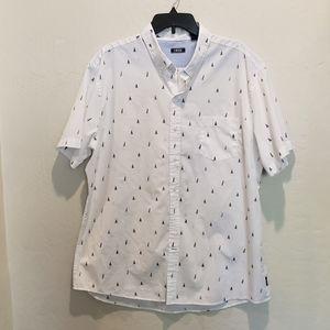 IZOD Men's Breeze Collection Cool Button Front XXL